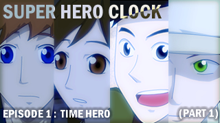 Super Hero Clock ep1 p1 cover